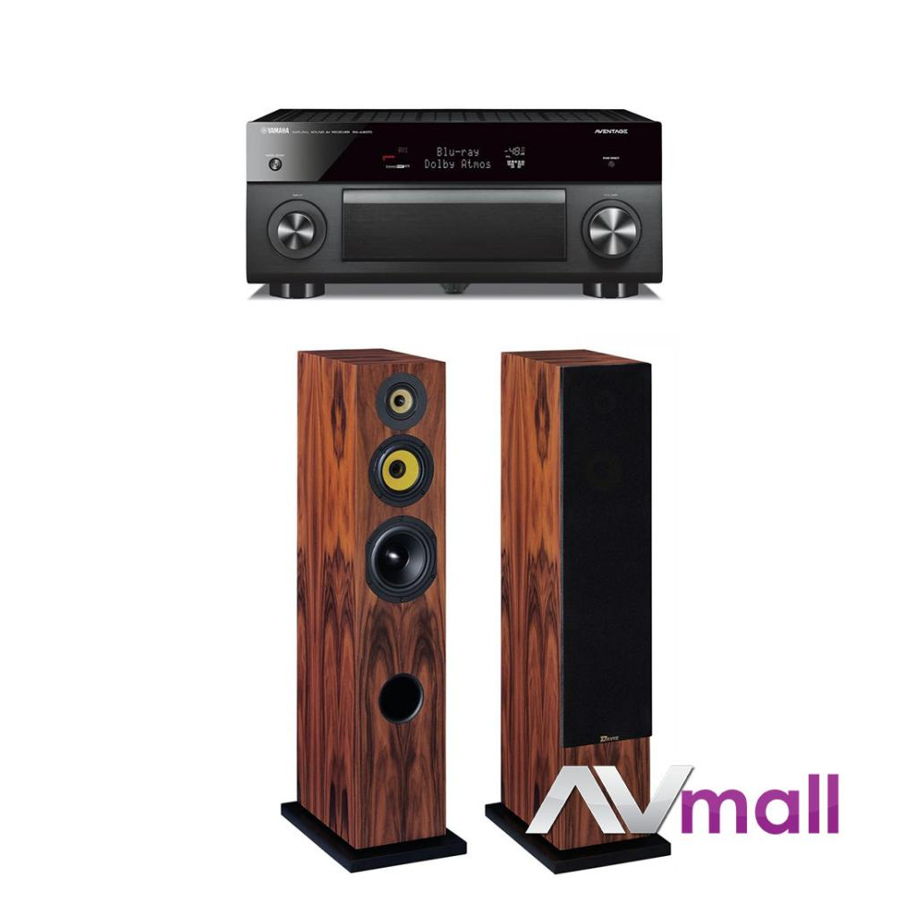pachet receiver av yamaha rx a3070 boxe davis acoustics. Black Bedroom Furniture Sets. Home Design Ideas