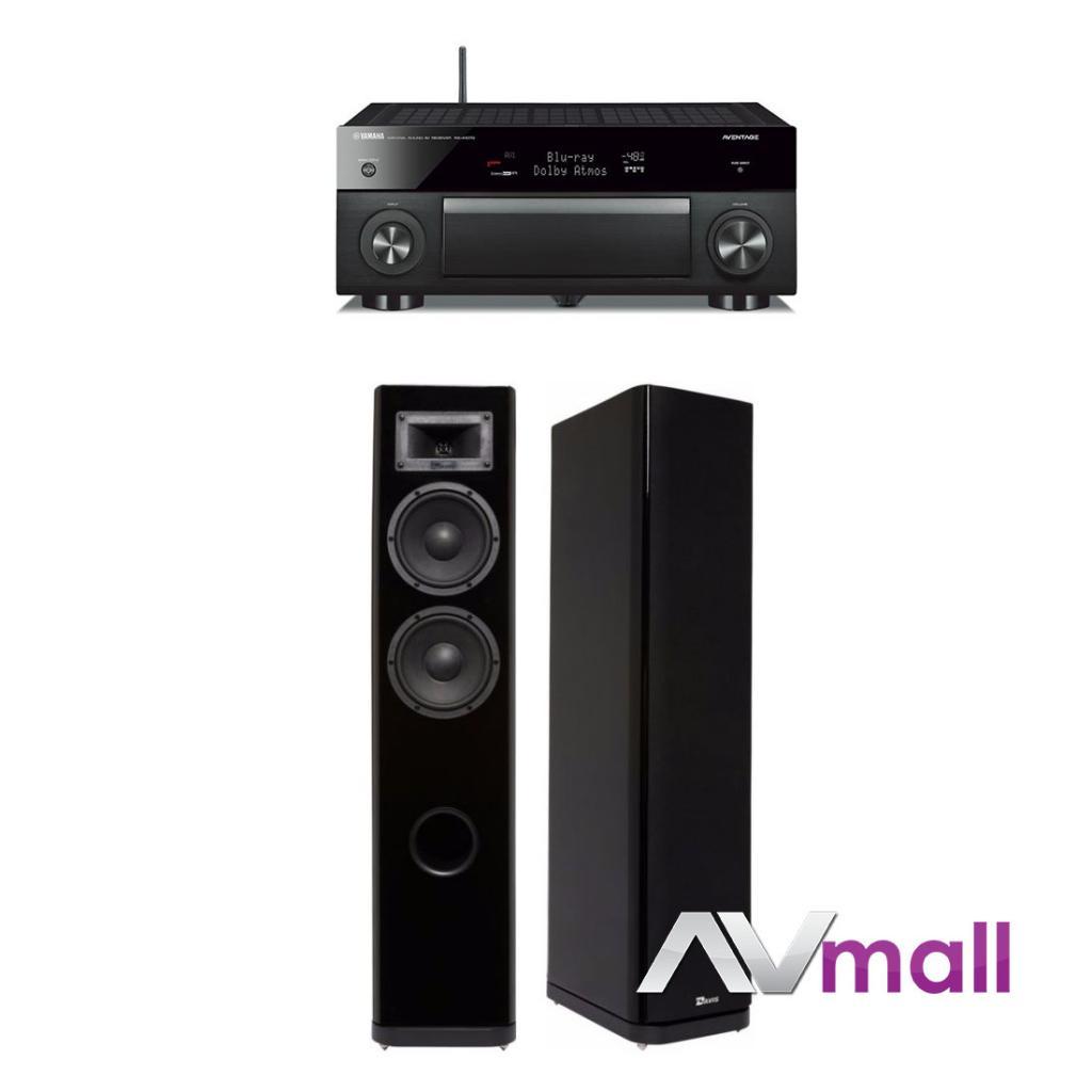 Pachet Receiver AV Yamaha RX-A1070 + Boxe Davis Acoustics Stentaure Serie 30