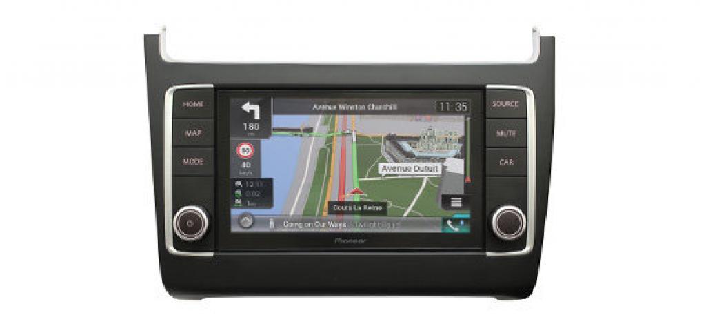 Navigatie Pioneer AVIC-EVO1-PL1-VAL dedicata VW Polo (6C)