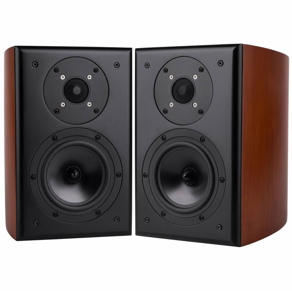 KIT Boxe Dayton Audio RS621CCK Curved Cherry