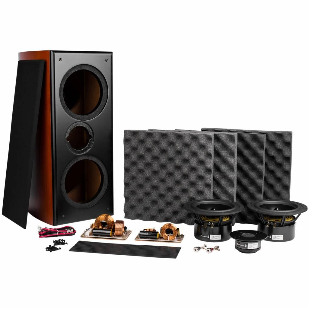 KIT Boxe Dayton Audio RS722CCK Curved Cherry