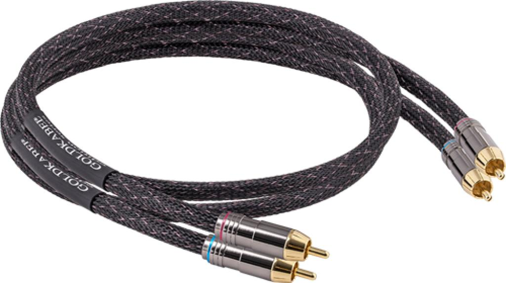 Cablu Interconect GoldKabel Edition RCA Audience HiFi 1 metru