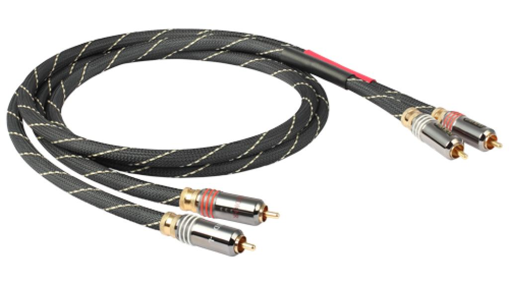 Cablu Interconect GoldKabel Edition RCA Stereo Silver 2.5 metri
