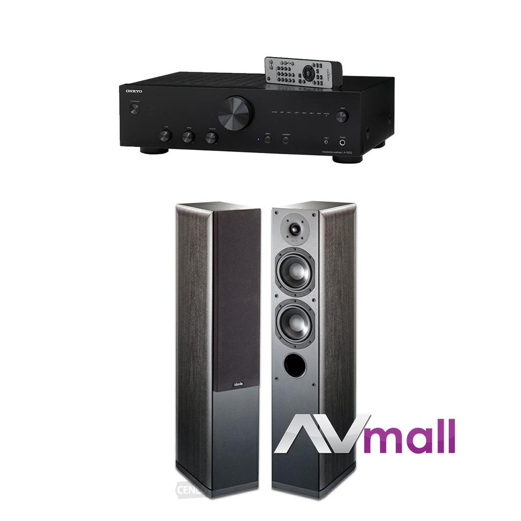 Pachet Amplificator Integrat Onkyo A-9010 + Boxe Indiana Line Nota 550 X