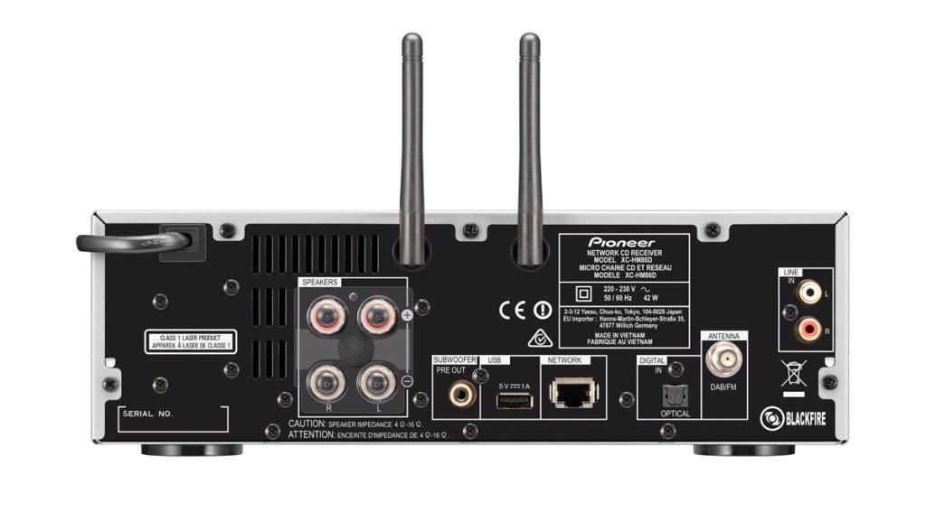 Amplificator Receiver Pioneer XC-HM86D