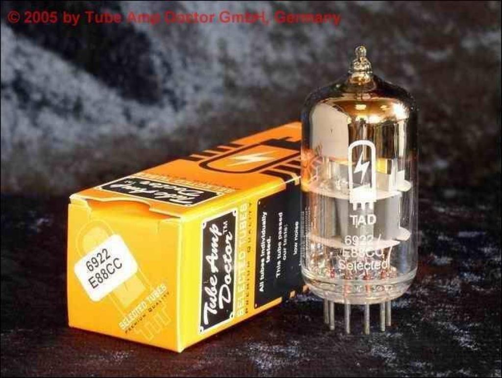 Lampa ( Tub ) Dubla Trioda TAD 6922 / E88CC