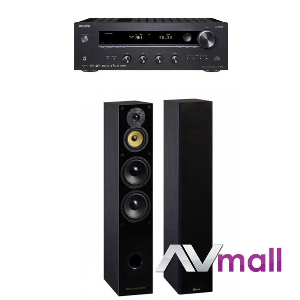 Pachet Amplificator Receiver Onkyo TX-8270 + Boxe Davis Acoustics Balthus 70