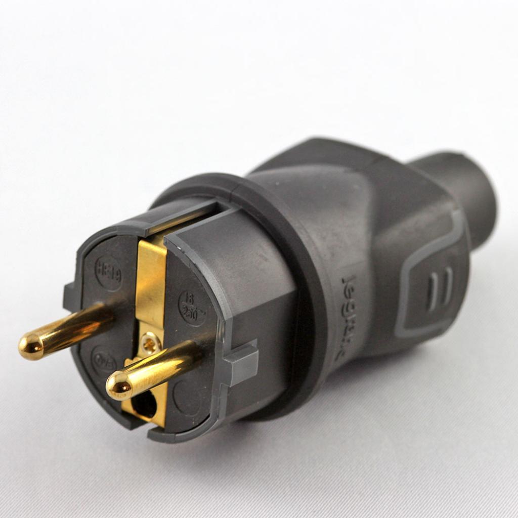 Conector Schuko KaCsa Audio HD plus