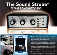 Sound Strobe (TM) Speaker Diagnostic Tool