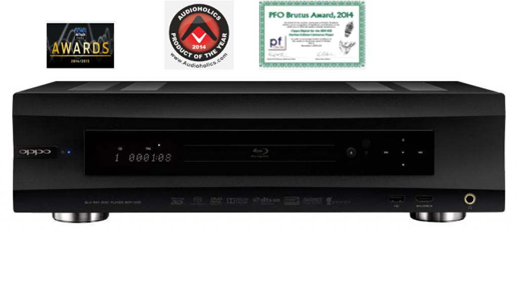 BluRay Player OPPO BDP-105D Darbee Edition