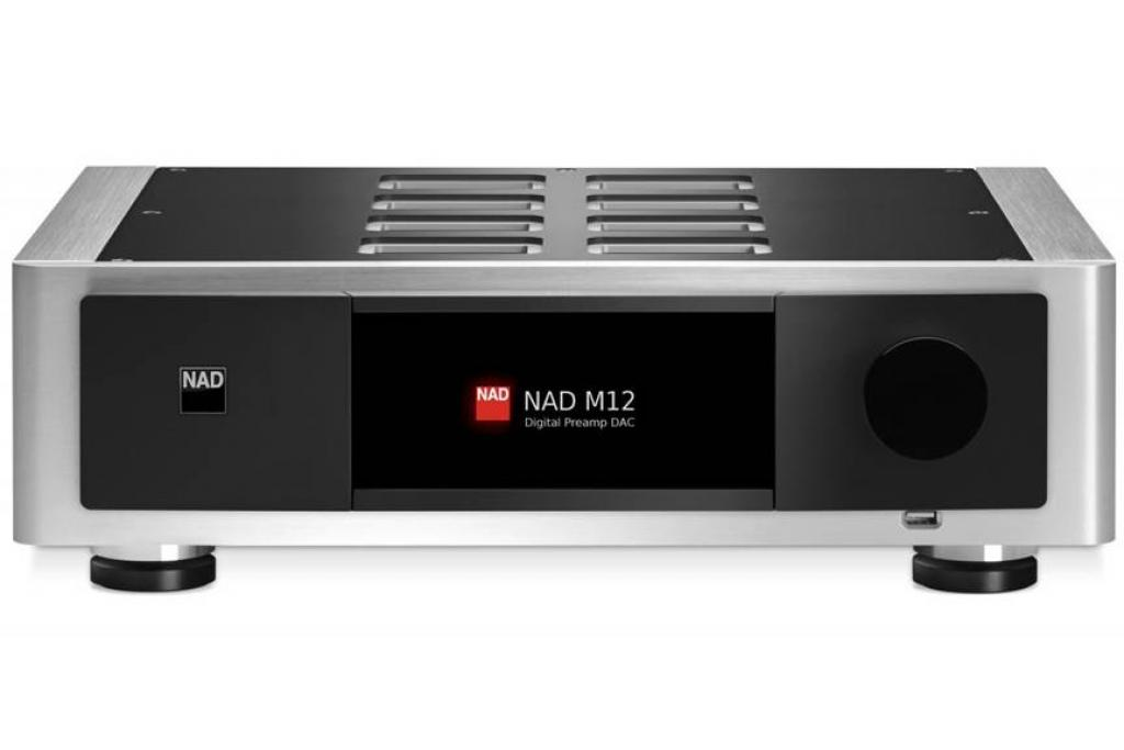Preamplificator + Convertor Digital/Analog (DAC) NAD Masters M12