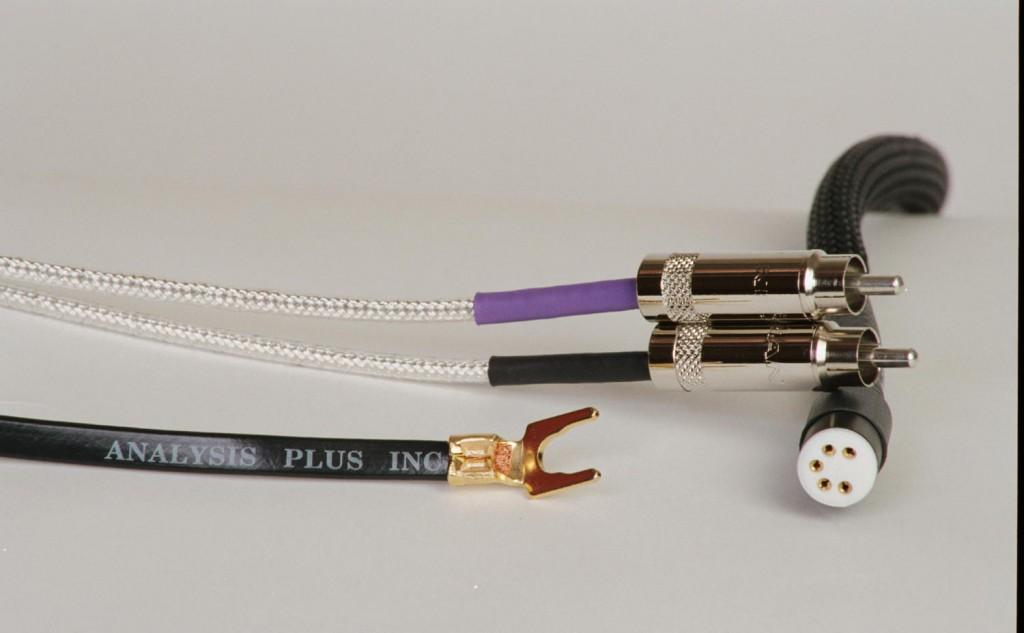Cablu Phono RCA - DIN Analysis Plus Low Mass Oval Phono Cable