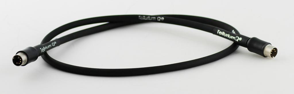 Cablu Interconect Tellurium Black 5 PIN DIN 1 metru