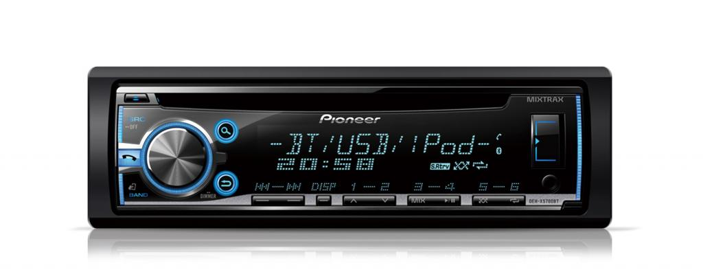 CD Player Auto Pioneer DEH-X5700BT