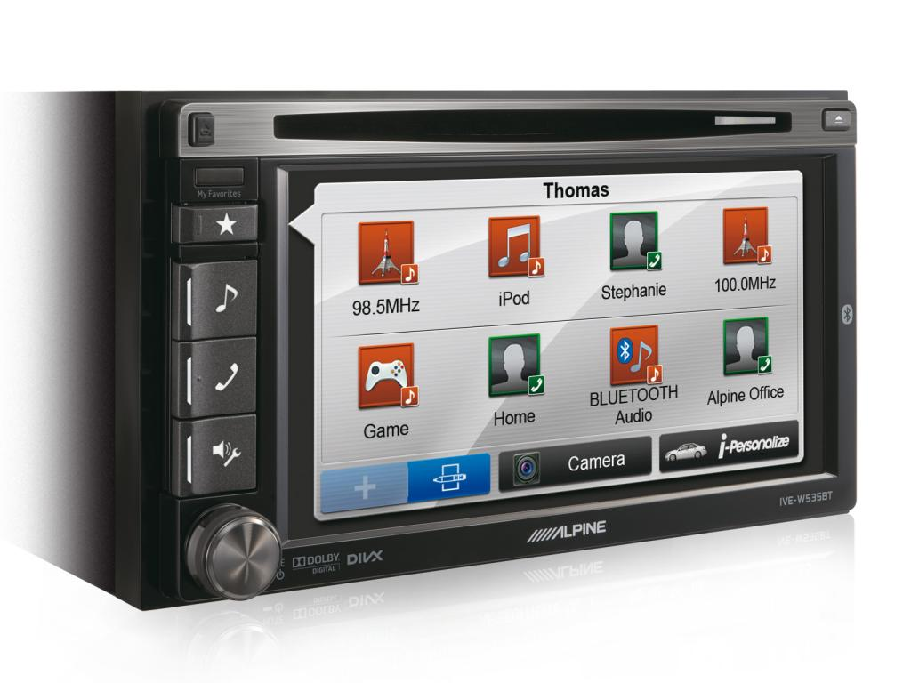 DVD Auto Alpine IVE-W535BT