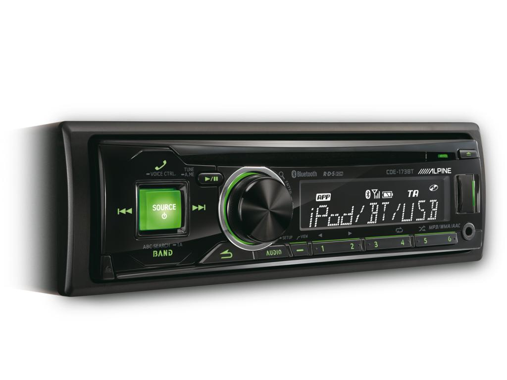CD Player Auto Alpine CDE-173BT