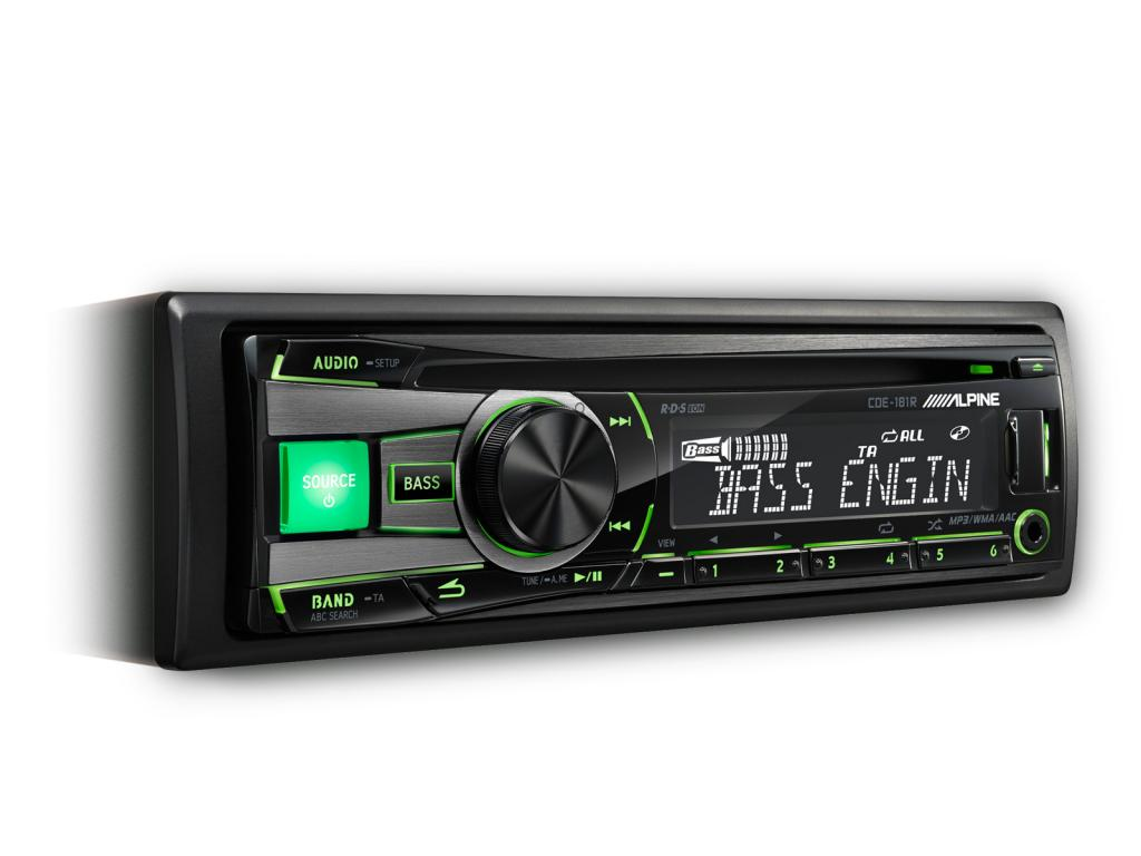 CD Player Auto Alpine CDE-181R_RR_RM