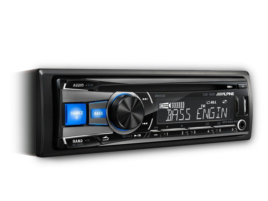 CD Player Auto Alpine CDE-182R