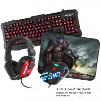 Kit Tastatura si Mouse Sumvision Kane Pro Edition 4 in 1