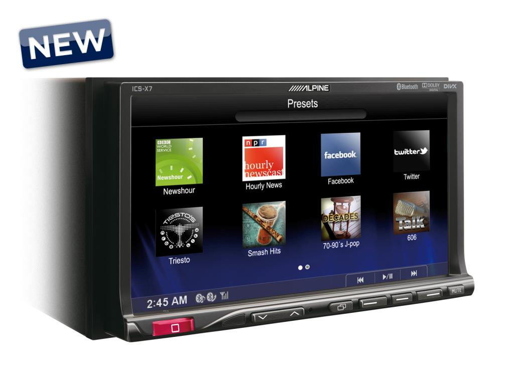 DVD Auto Alpine ICS-X7