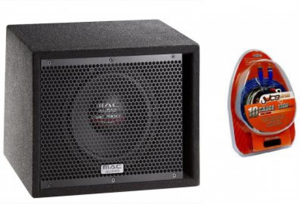 Subwoofer Auto Mac Audio Mobil Street Bass Pack