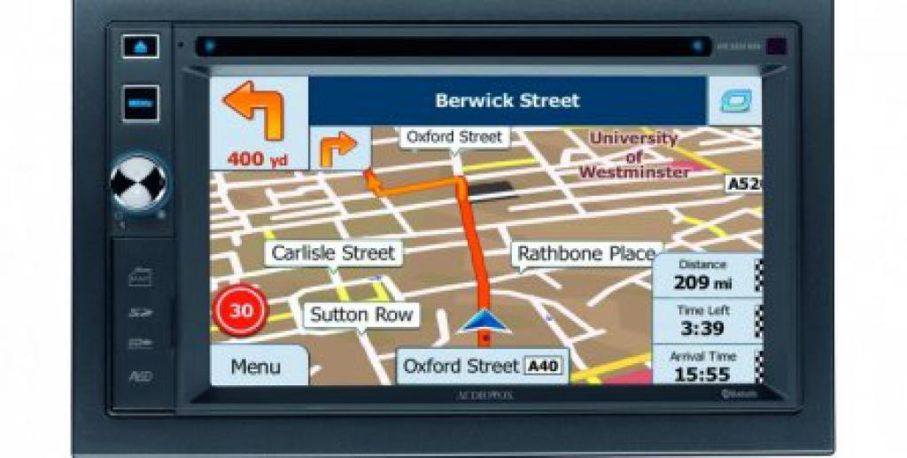 DVD Player Auto Audiovox VXE-6020NAV