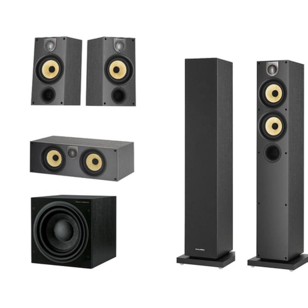 Pachet Boxe Bowers Wilkins 684 S2 + Boxa Bowers Wilkins HTM62 S2 + Boxe Bowers Wilkins 686 S2 + Subwoofer Bowers Wilkins ASW 610