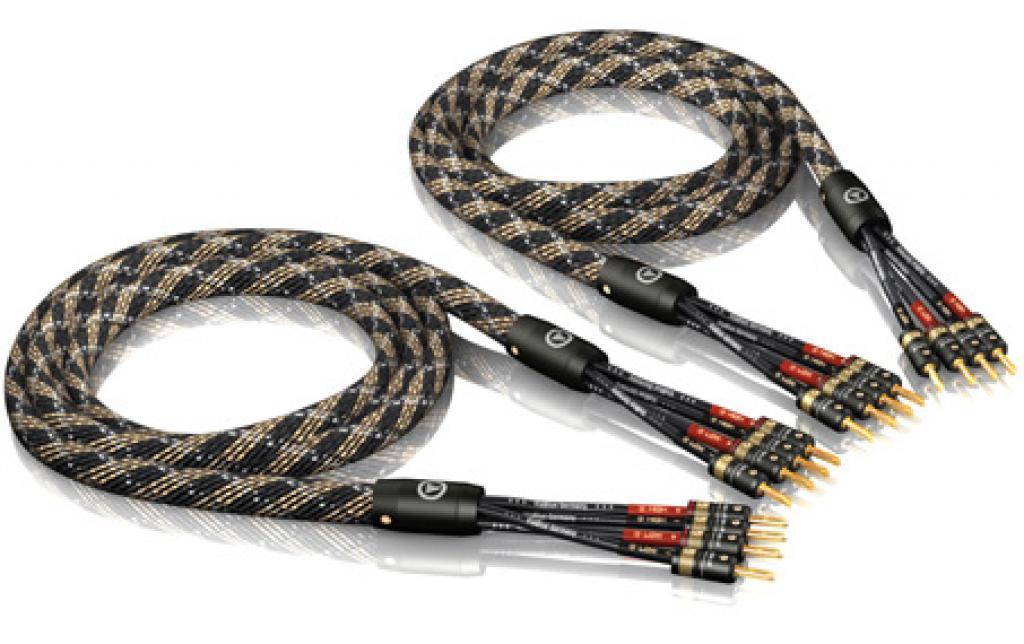 Cablu de Boxe Viablue SC-4 Silver Bi-Amp T6s 2 x 1.5m