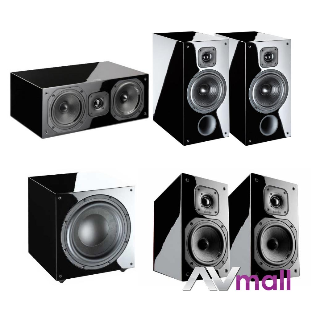 Pachet Boxe Indiana Line Diva 262 + Boxe Indiana Line Diva 252 + Boxa Indiana Line Diva 752 + Subwoofer Activ Indiana Line Basso 942