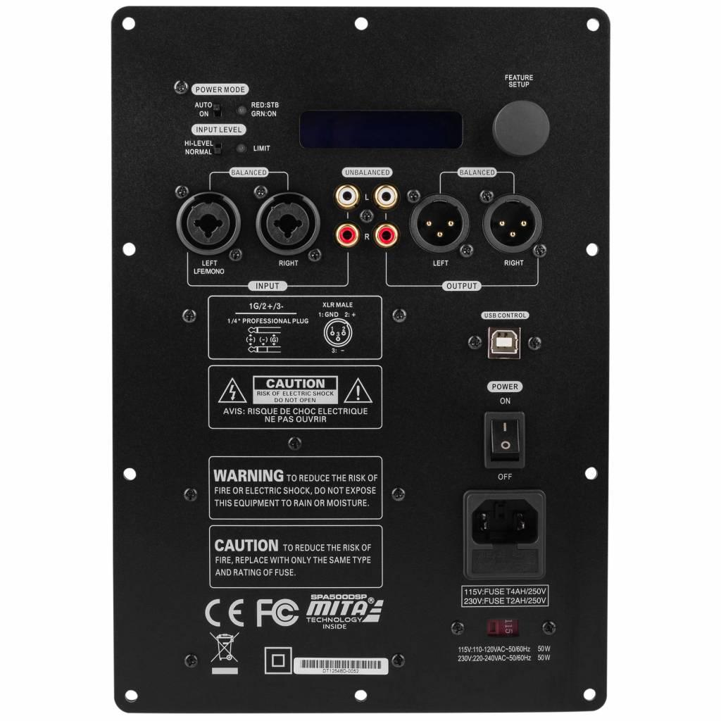 Modul Amplificator Subwoofer Dayton Audio SPA500DSP 500W