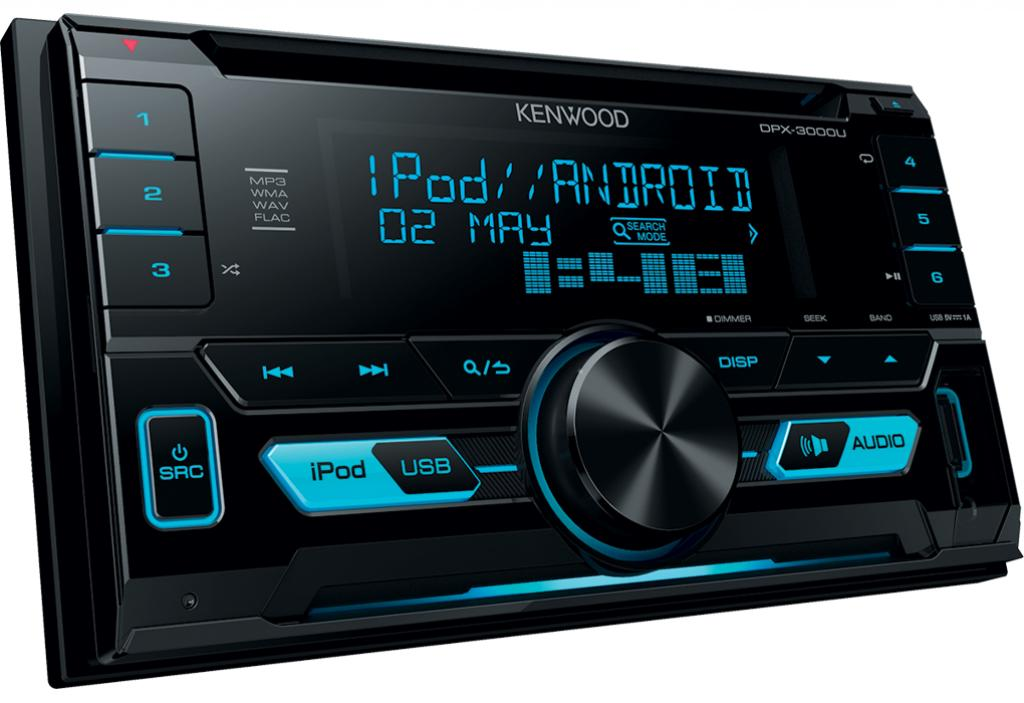 Unitate multimedia Auto Kenwood DPX-3000U