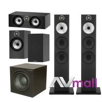 Pachet Boxe Bowers Wilkins 603 + Boxe Bowers Wilkins 606 + Boxa Bowers Wilkins HTM6 + Subwoofer Bowers Wilkins ASW 610XP