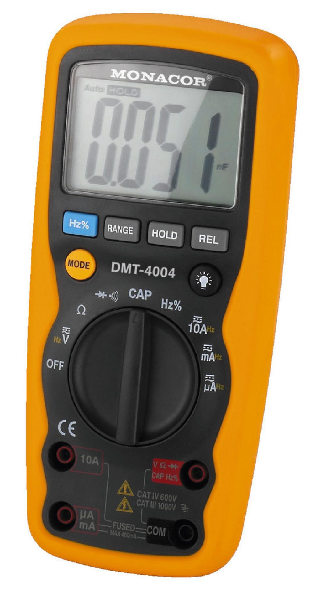 Multimetru Digital Monacor DMT-4004