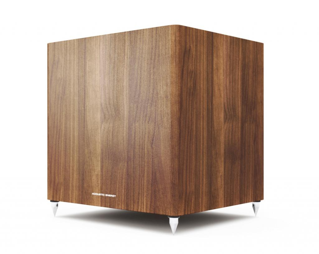Subwoofer Acoustic Energy AE308 Walnut wood veneer