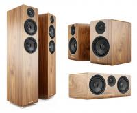 Pachet Boxe Acoustic Energy AE109 Walnut + Boxa Acoustic Energy AE107 Walnut + Boxe Acoustic Energy AE100 Walnut