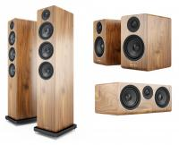 Pachet Boxe Acoustic Energy AE120 Walnut + Boxe Acoustic Energy AE100 Walnut + Boxa Acoustic Energy AE107 Walnut