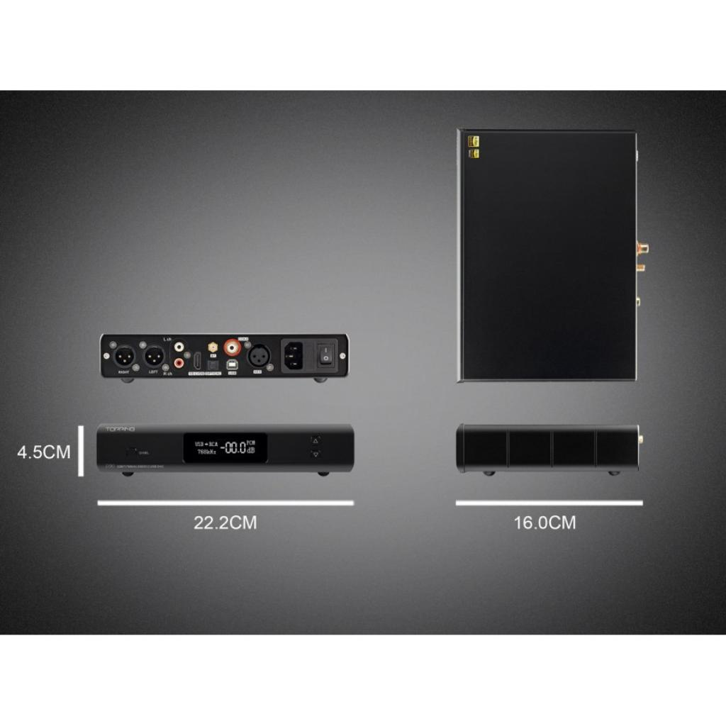 Convertor Digital/Analog (DAC) Topping D90